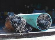 Пробить засор кухонной трубы раковины